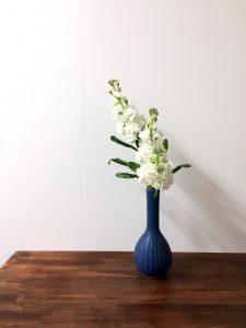 高さを変えた花